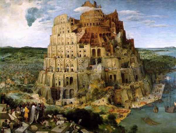 Tour de Bable, de Bruegel