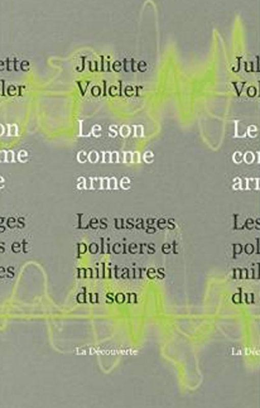 VOLCLERJ_le_son_comme_arme_cover