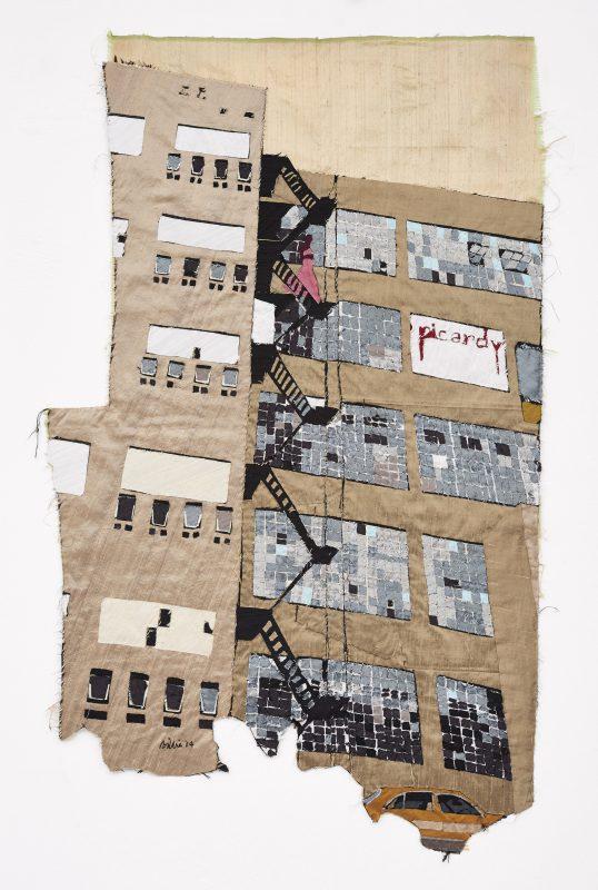 Billie ZANGEWA, Fire escape II / Courtesy: l'artiste et Afronova, Johannesburg